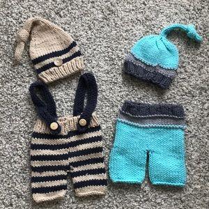 Newborn photo prop outfits